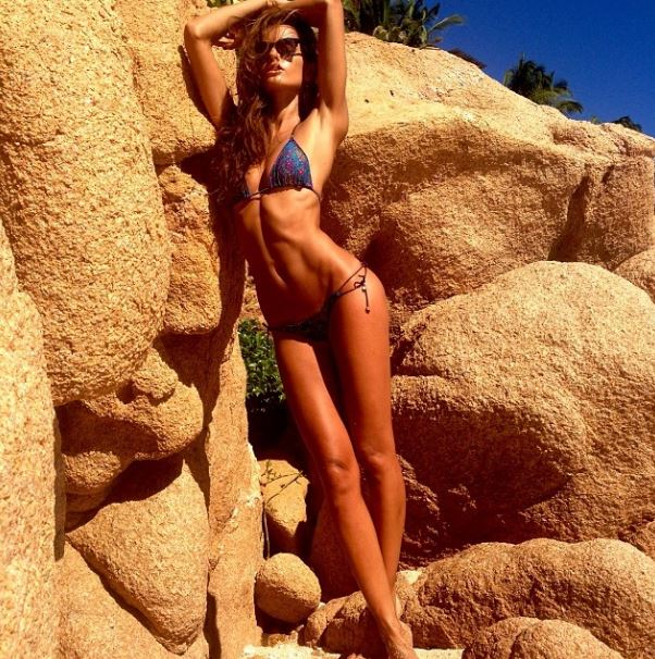 Izabel Goulart hot régime
