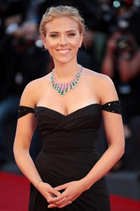 Scarlett Johansson il 3 settembre 2013 alla Mostra del Cinema di Venezia © Annalisa Flori